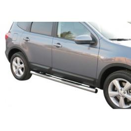 Sidebars met Steps voor Nissan  - QashQai+2 BJ: 2008-2010