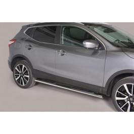 Sidebars Ovaal voor Nissan  - QashQai BJ: na 2014-