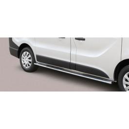 Sidebars met Steps ovaal voor Opel - Vivaro BJ: na 2014-