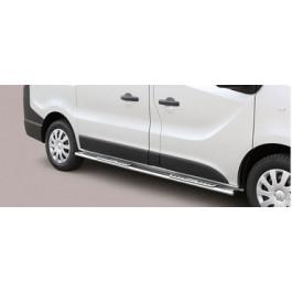 Sidebars met design steps voor Opel - Vivaro BJ: na 2014-