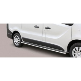 Sidebars Ovaal voor Opel - Vivaro BJ: na 2014-