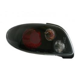 Achterlichten (set) Zwart  (niet voor CC) voor Peugeot  - 206 BJ: 1998-2009