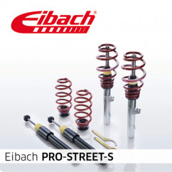 Eibach Pro-Street-S PSS65-85-001-03-22 voor Skoda - Octavia (1U2)  - 1.4, 1.4 16V, 1.6, 1.8, 1.8 T, 2.0, 1.9 SDI, 1.9 TDI - 09.96 - 12.10