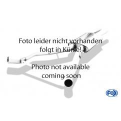 FOX Voordemper vervangende pijp SE042120-VER voor Seat - Leon 5F ST - Met Starre achteras: 1.2l 63/77kW  1.4l 90/103kW  1.8l 132kW -