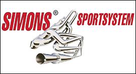Simons rvs sportuitlaat verkoop