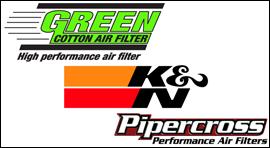 Luchtfiltershop K&N GREEN