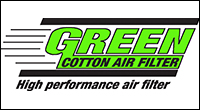 Green auto tunning air filters